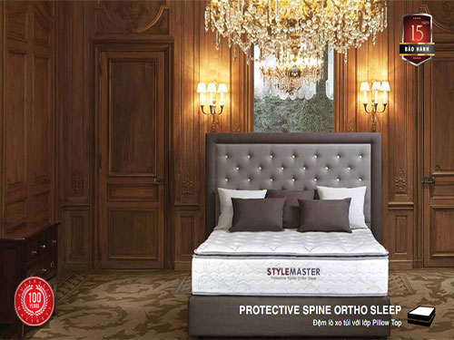 Đệm lò xo túi Everon Protective Spine Ortho Sleep