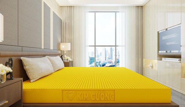 Đệm cao su Kim Cương Happy Gold