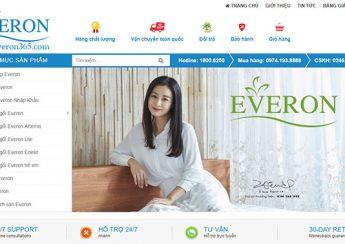 Kinh nghiệm khi mua chăn ga gối đệm Everon online